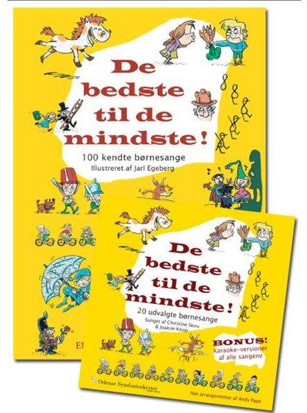 Image of   De Bedste Til De Mindste - Bog Og Cd (sampak) - Diverse - Bog