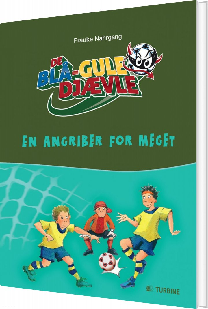 Image of   De Blå-gule Djævle - Frauke Nahrgang - Bog