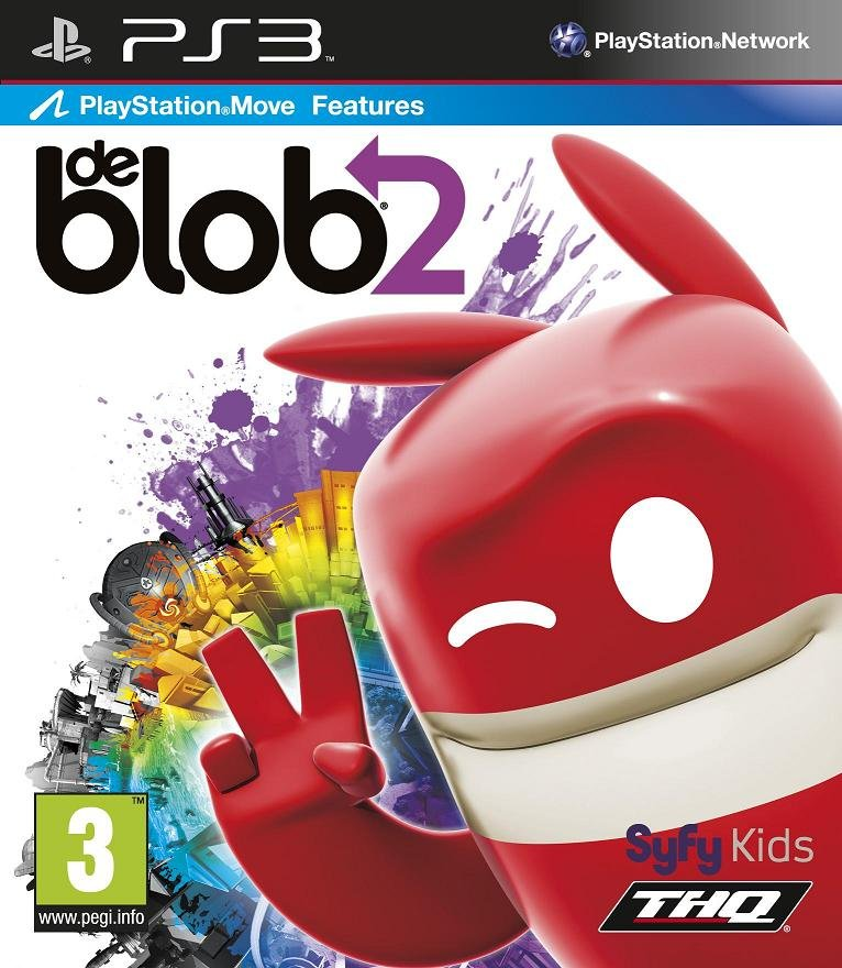 Image of   De Blob 2: The Underground (move Compatible) - PS3