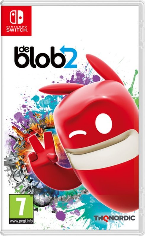 Image of   De Blob 2 - Nintendo Switch