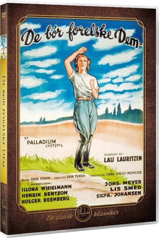 Image of   De Bør Forelske Dem - DVD - Film
