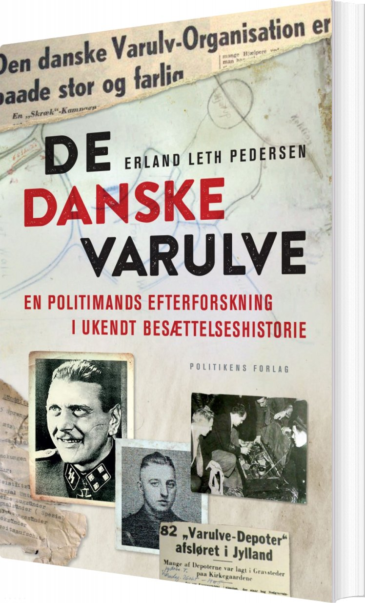Image of   De Danske Varulve - Erland Leth Pedersen - Bog