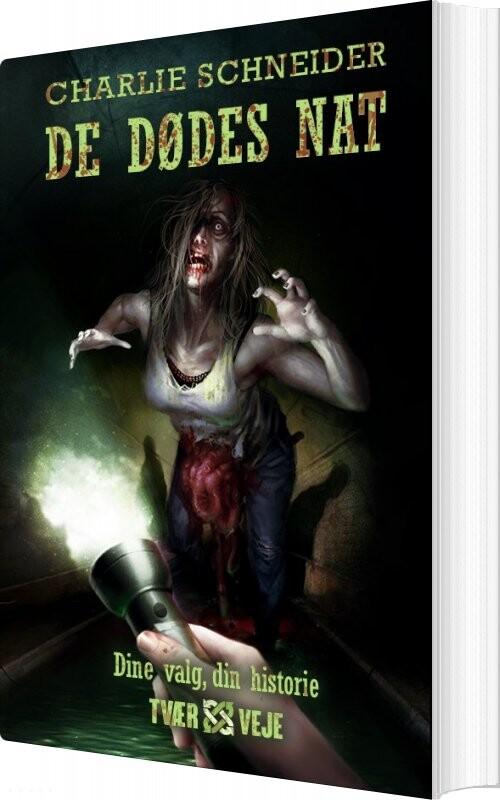 Image of   De Dødes Nat - Charlie Schneider - Bog