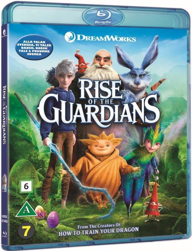 Image of   De Eventyrlige Vogtere / Rise Of The Guardians - Blu-Ray