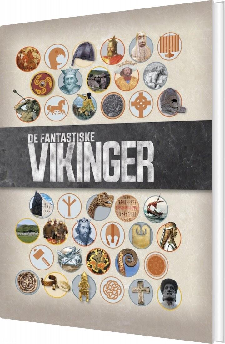 Image of   De Fantastiske Vikinger - Philip Parker - Bog