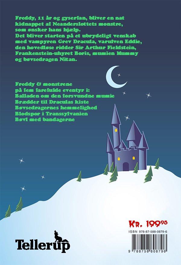 Image of   De Fem Bøger Med Freddy Og Monstrene - Dennis Jürgensen - Bog