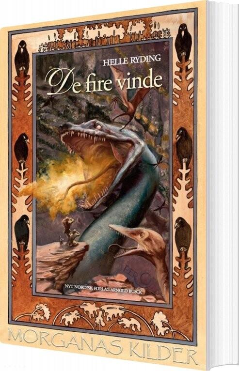 Image of   De Fire Vinde - Helle Ryding - Bog