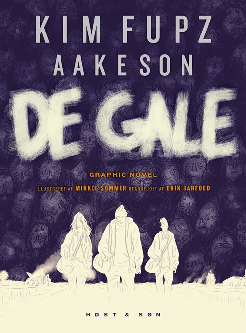 Image of   De Gale - Kim Fupz Aakeson - Tegneserie