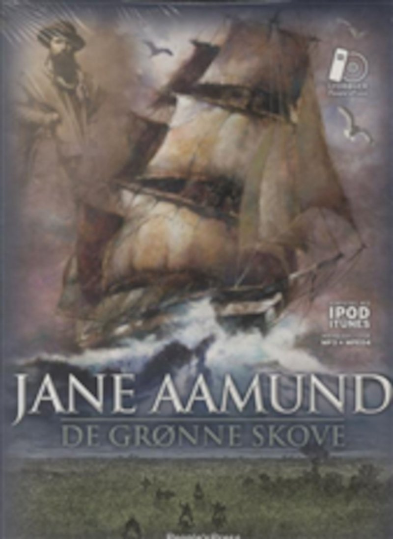 Image of   De Grønne Skove - Mp3 - Jane Aamund - Cd Lydbog