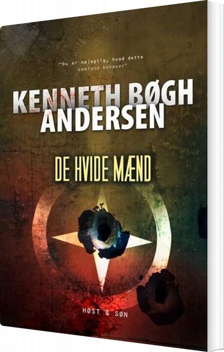 Image of   De Hvide Mænd - Kenneth Bøgh Andersen - Bog