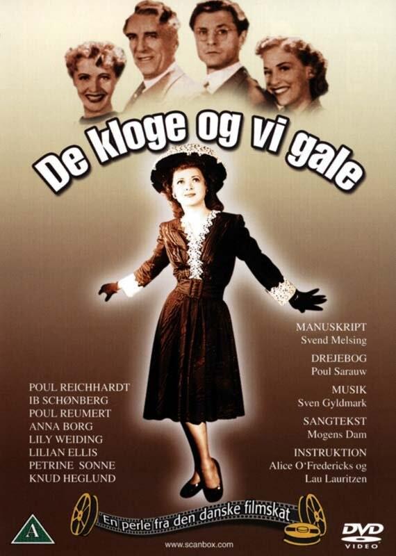 Image of   De Kloge Og Vi Gale - DVD - Film