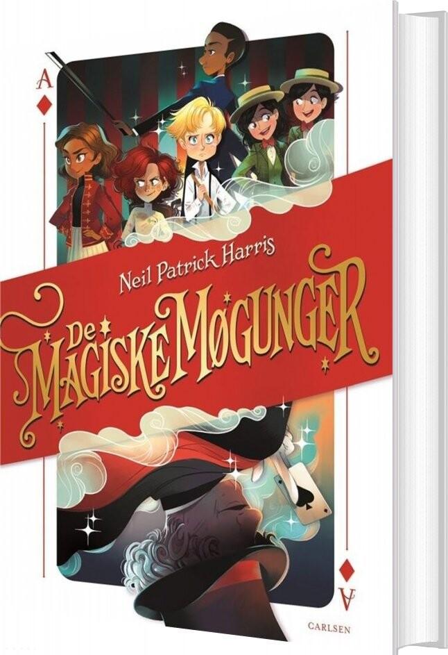 Image of   De Magiske Møgunger 1 - Den Første Historie - Neil Patrick Harris - Bog