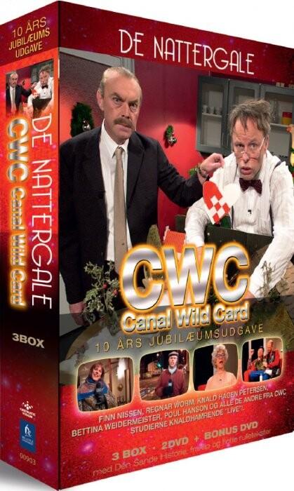 Cwc / Canal Wild Card Julekalender - De Nattergale - DVD - Tv-serie