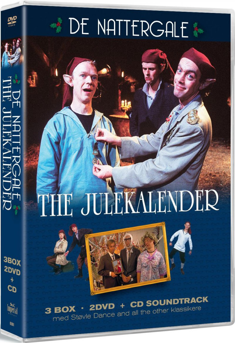 The Julekalender - De Nattergale - DVD - Tv-serie