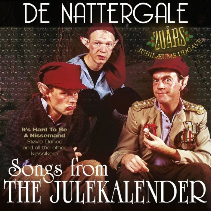 Image of   De Nattergale - The Julekalender - CD