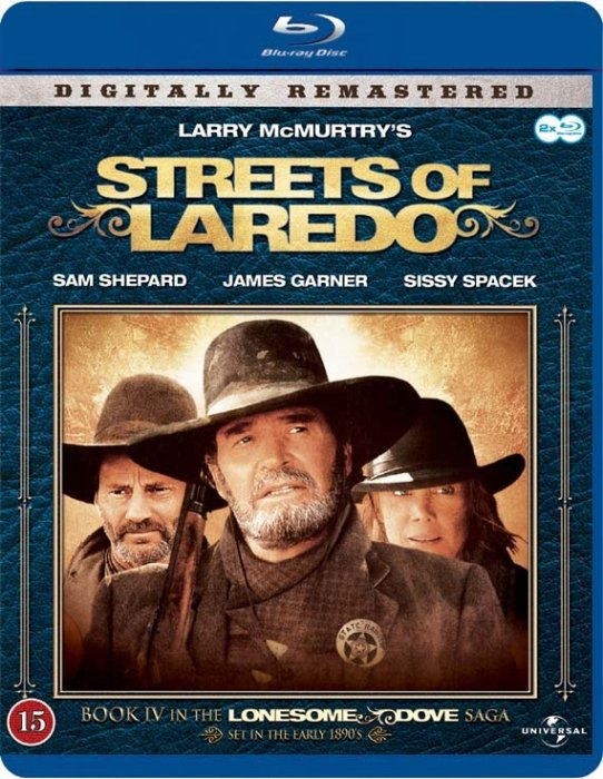 Image of   De Red Mod Nord - Streets Of Laredo - Blu-Ray - Tv-serie