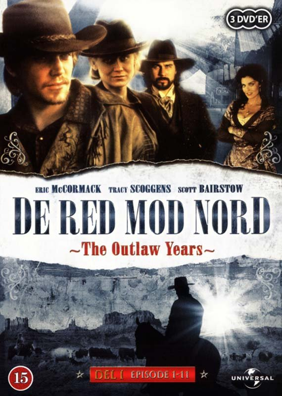 De Red Mod Nord / Lonesome Dove - The Outlaw Years - Del 1 - Episode 1-11 - DVD - Tv-serie