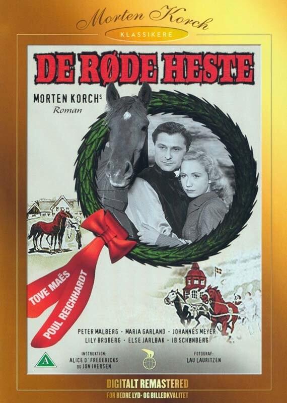 Image of   De Røde Heste - 1950 - DVD - Film