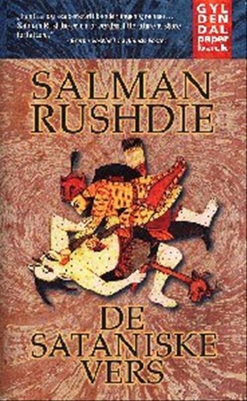 De Sataniske Vers - Salman Rushdie - Bog