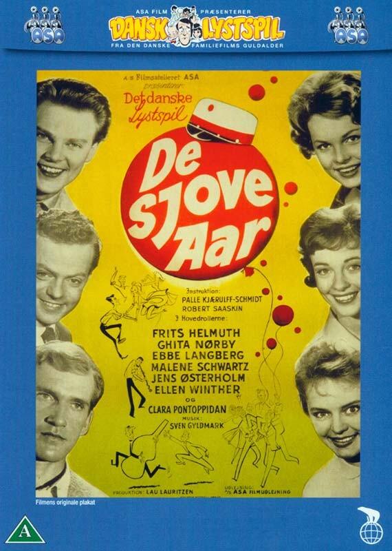 Billede af De Sjove år - DVD - Film