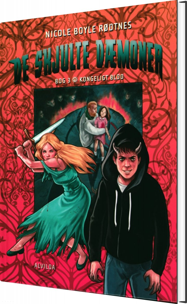De Skjulte Dæmoner 3: Kongeligt Blod - Nicole Boyle Rødtnes - Bog