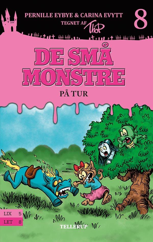 De Små Monstre #8: På Tur - Pernille Eybye - Bog