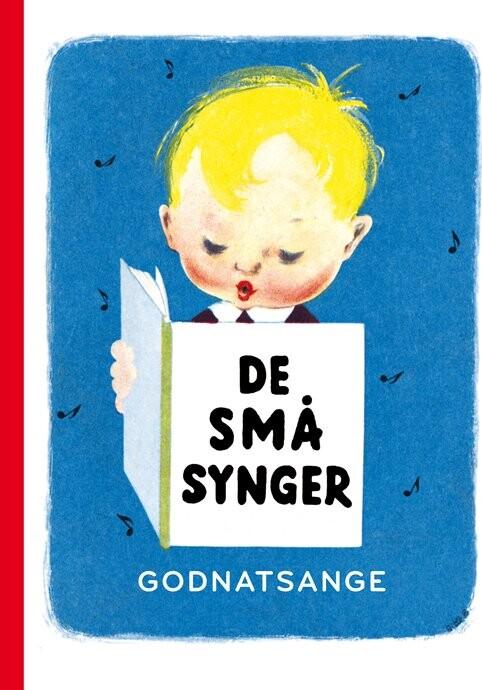 07fdbde6d35 Pegebog for de små med teksterne til godnatsange fra De små synger,  illustreret med Bitte Böchers klassiske illustrationer. Fra indholdet kan  nævnes: Den ...