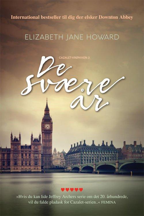 De Svære år - Elizabeth Jane Howard - Bog
