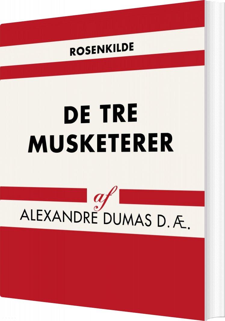 Billede af De Tre Musketerer - Alexandre Dumas D. æ - Bog