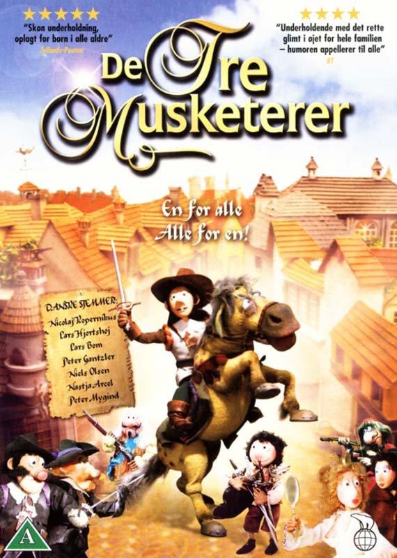 Image of   De Tre Musketerer Dukkefilm - DVD - Film