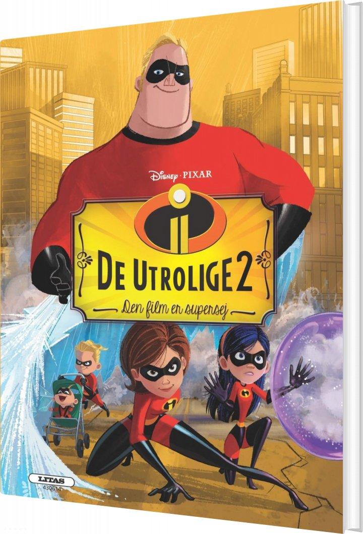 Billede af De Utrolige 2 - Disney Pixar - Bog