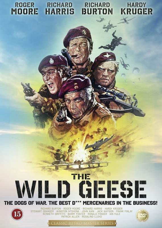 Image of   De Vilde Gæs - DVD - Film