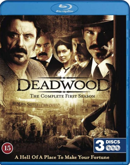 Deadwood - Sæson 1 - Hbo - Blu-Ray - Tv-serie