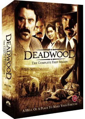 Deadwood - Sæson 1 - Hbo - DVD - Tv-serie