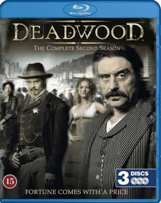 Deadwood - Sæson 2 - Hbo - Blu-Ray - Tv-serie