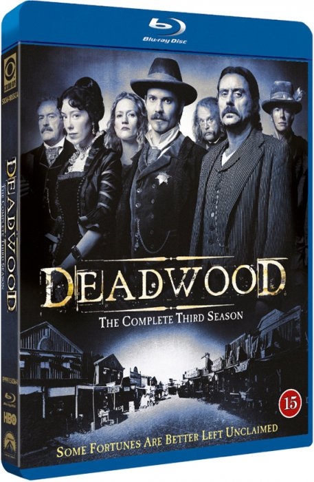 Deadwood - Sæson 3 - Hbo - Blu-Ray - Tv-serie
