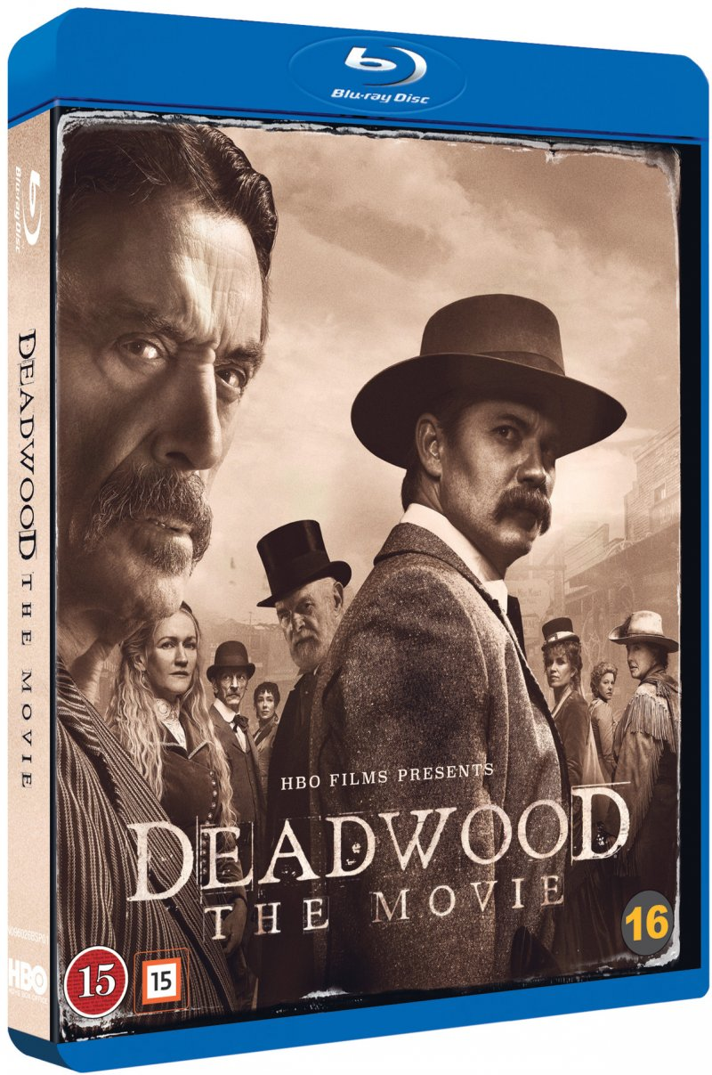 Køb Deadwood - The Movie - Blu-Ray til 129,95 kr.