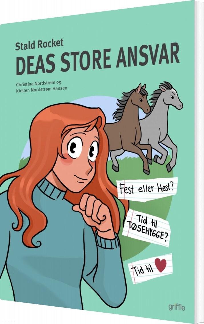 Image of   Deas Store Ansvar - Kirsten Nordstrøm Hansen - Bog