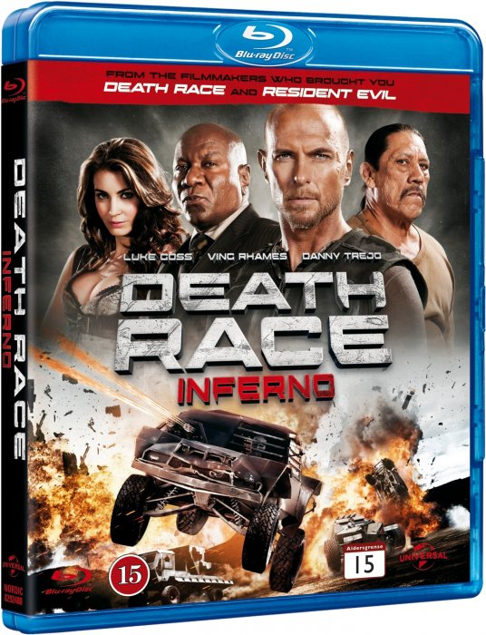 Image of   Death Race 3 - Inferno - Blu-Ray