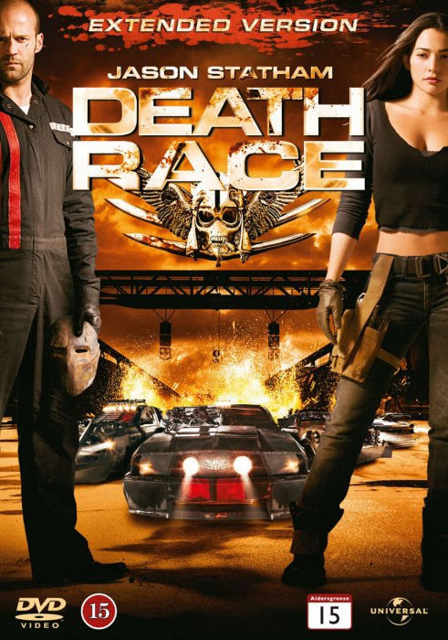 Image of   Death Race - Extended Edition - DVD - Film