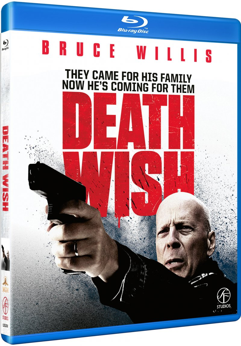 Image of   Death Wish - En Mand Ser Rødt - Blu-Ray