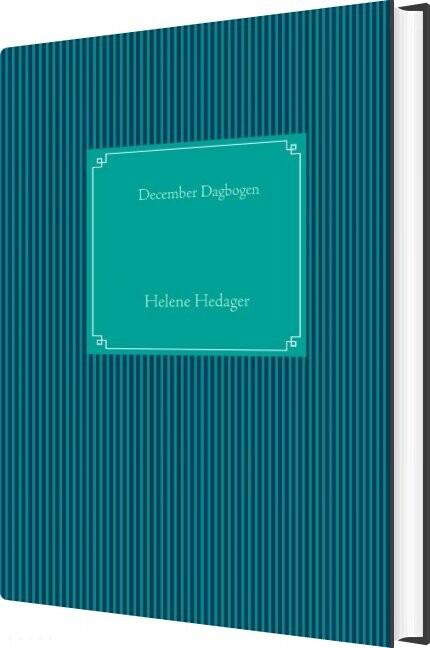 Image of   December Dagbogen - Helene Hedager - Bog