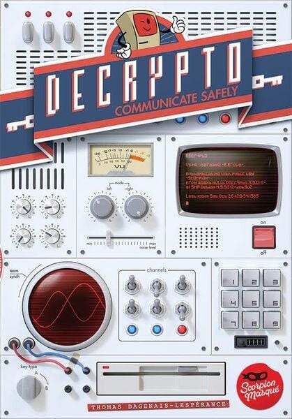 Decrypto Brætspil - Dansk Norsk - Communicate Safely