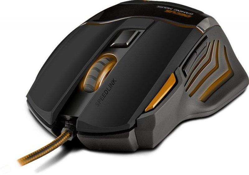 Image of   Speedlink Decus Gaming Mouse Limited Edition - Orange & Sort