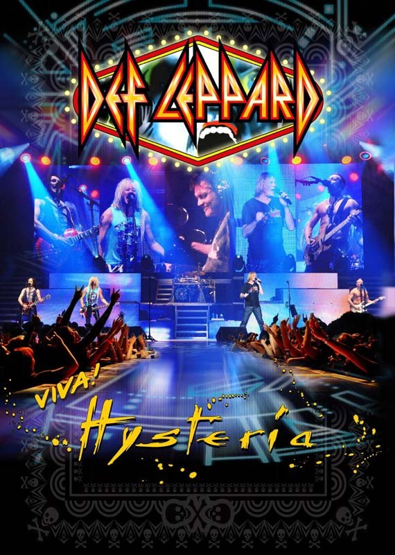 Image of   Def Leppard Viva! Hysteria - Life At The Joint, Las Vegas - DVD - Film