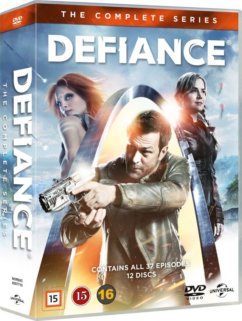Image of   Defiance - Den Komplette Serie - DVD - Tv-serie