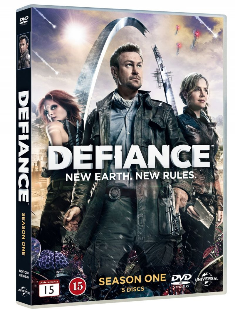 Image of   Defiance - Sæson 1 - DVD - Tv-serie