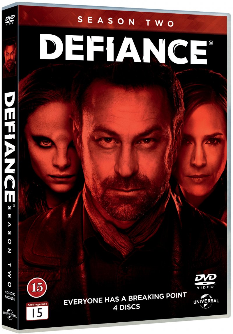 Image of   Defiance - Sæson 2 - DVD - Tv-serie