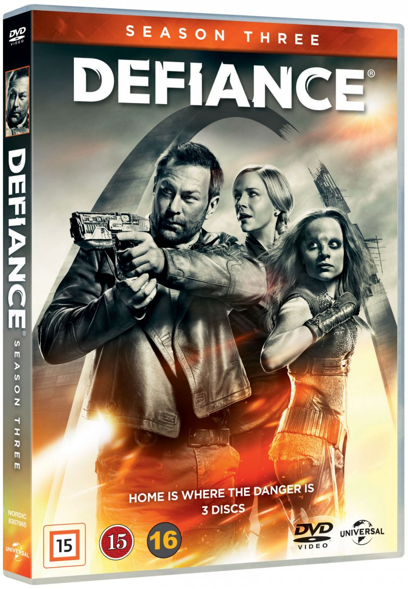 Image of   Defiance - Sæson 3 - DVD - Tv-serie