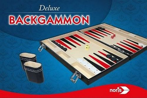 Deluxe Backgammon Brætspil I Kuffert